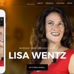 LisaWentz.com-homepage-iphone6s-leftside-byTheWordPressNinja