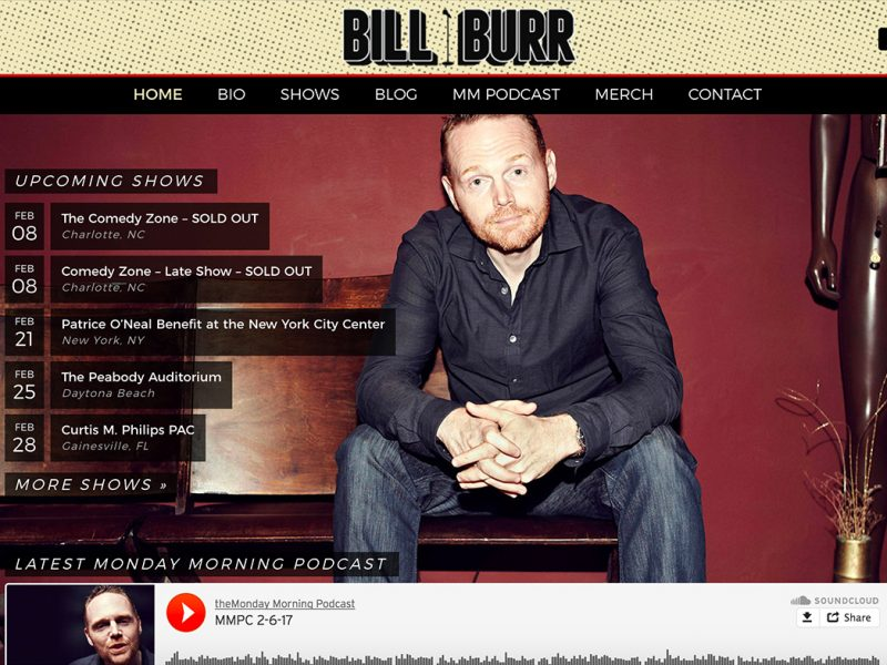 BillBurr.com-built-with-WordPress