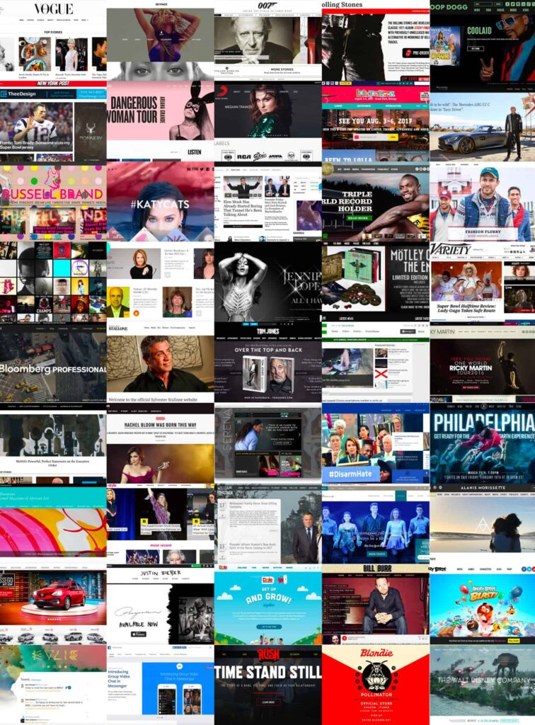 Celebrity-Big-Company-sites-built-with-WordPress-Collage