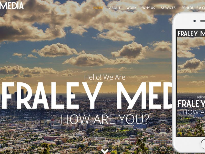 FraleyMedia.com-homepage-iphone6s-by-TheWordPressNinja.com