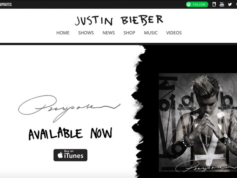 JusinBieberMusic.com-built-with-WordPress