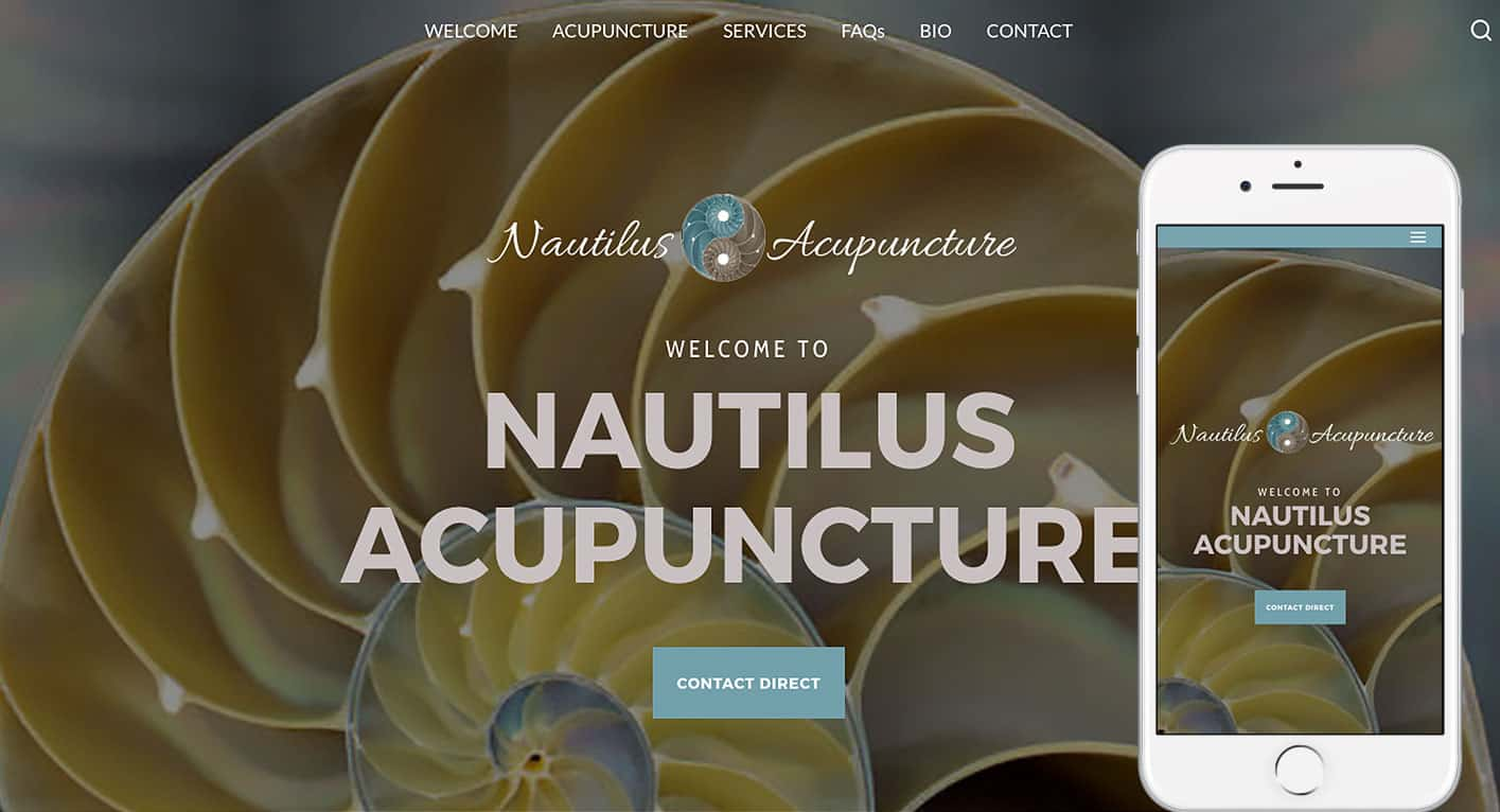 NautilusAcupuncture.com-homepage-iPhone6s-byTheWebStylist