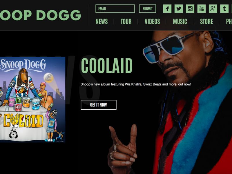 SnoopDogg.com-built-with-WordPress