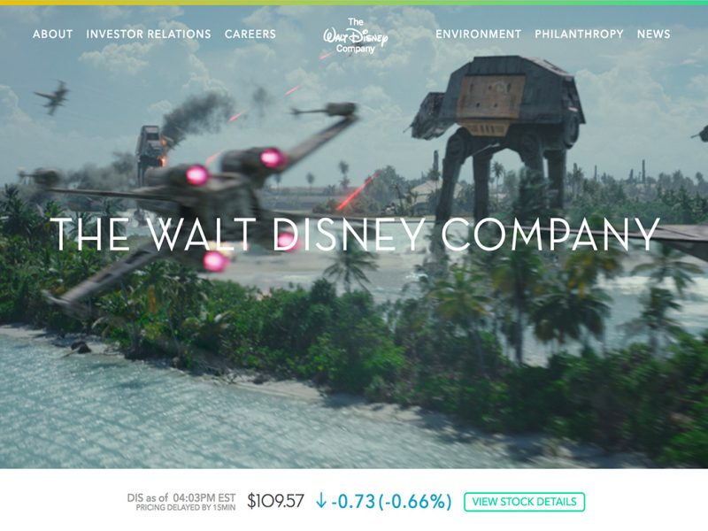 TheWaltDisneyCompany.com-built-with-WordPress