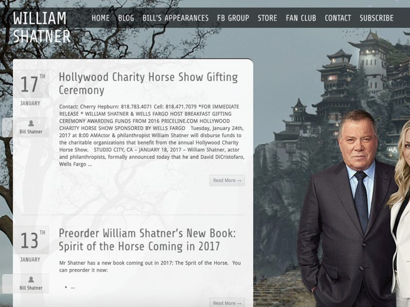 WilliamShatner.com-built-with-WordPress