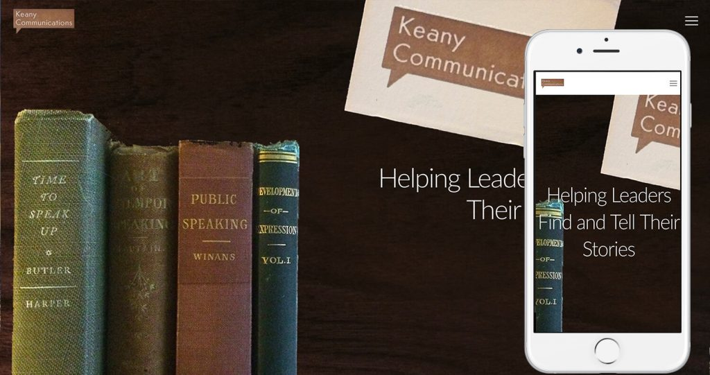 KeanyCommunications.com-by-TheWebStylist-The-WordPressNinja-iphone6s