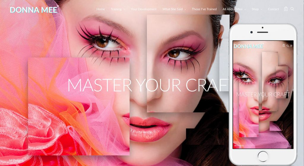TheWebStylist.com-DonnaMee-Laptop-iPhone7splus-promo-MasterYourCraftWelcome